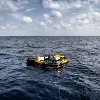 Mediterranean migrants face fine line between rescue by 'angels' or drowning