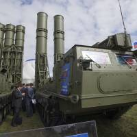Russia stokes concern by dispatching advanced air defense missile system to Syria port