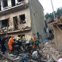 At least 14 people killed, 147 hurt in northwest China mystery explosion