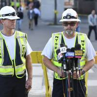 Train going twice speed limit, hit brakes second before Hoboken station bumper impact: NTSB