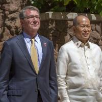 Pentagon chief troubled by Philippine president's latest comments