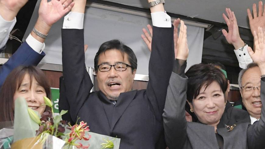 LDP-affiliated candidates win Tokyo, Fukuoka Lower House by-elections by wide margins