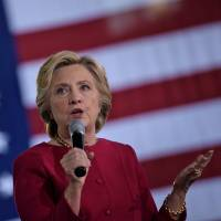 Clinton 'accepts' Abe's dealings with Russia: ex-State Department official