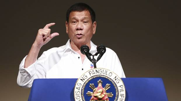 Duterte vows not to abandon Japan on security matters as he takes more jabs as U.S.