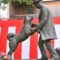 Hachiko statue erected at New Jersey pet cemetery