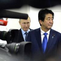 Japan considers option of seeking return of Russian-held islands in two stages