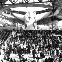 Roughly 64.2 million people came to visit the 1970 World Exposition in Osaka between March and September of 1970. | KYODO