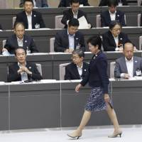 Koike vows to nail officials who cut corners in Tsukiji move, cap Tokyo's Olympic costs