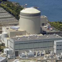 The No. 3 reactor of the Mihama nuclear power plant in Fukui Prefecture has been cleared to run until it is 60 years old. However, safety work must be carried out before it can power up. | KYODO
