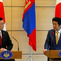 Japan and Mongolia agree to strengthen ties further