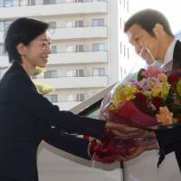 On first day in office, new Niigata governor again rejects early reactor restart