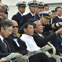 Duterte says open to idea of military exercises with Japan