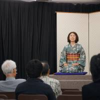 'Rakugo' comedy no joke for students keen to hone English skills