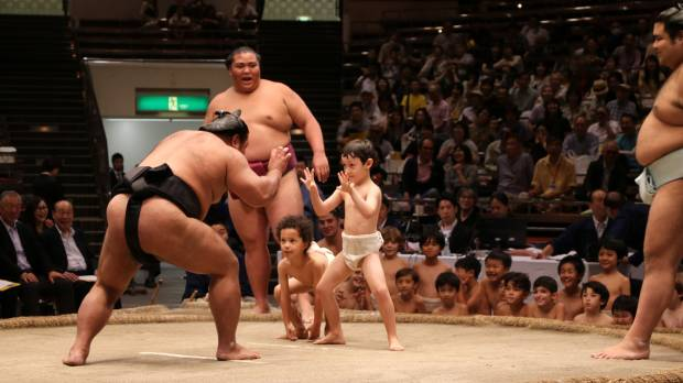 Sumo body spreads awareness of ancient sport ahead of Tokyo 2020 Games