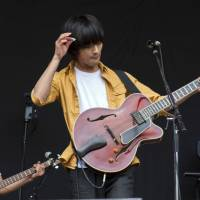 Festival of sound: Shugo Tokumaru performs at the 2011 edition of the Fuji Rock Festival. | JAMES HADFIELD