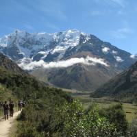 Hiking to Machu Picchu past sacred Inca peaks