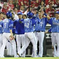 BayStars blank Carp, stave off elimination
