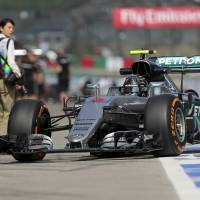 Rosberg posts fastest time during Japanese Grand Prix practice sessions