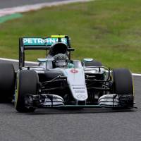 Rosberg takes pole position again