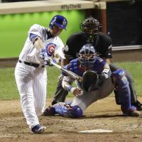 Montero lifts Cubs in opener