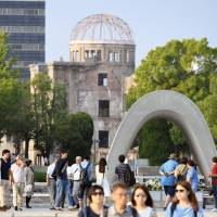 A-Bomb Dome gives foreign players pause for thought during Japan Series