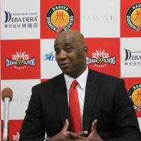 Coach Reggie Geary has guided the Nagoya Diamond Dolphins to a 5-1 record through Sunday. | B. LEAGUE