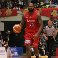 Veteran big man Jerome Tillman is Nagoya's second-leading scorer (16.5 points per game). | B. LEAGUE