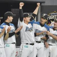 Fighters rally to down Hawks, punch ticket to Japan Series