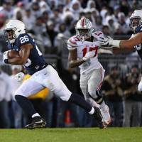 Haley scores on blocked field goal, Penn State upsets No. 2 Ohio State