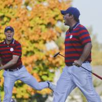 U.S. takes control in Ryder Cup