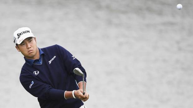 Matsuyama holds three-stroke lead after two rounds in Shanghai