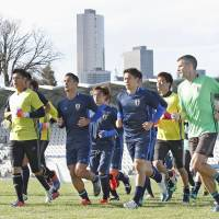 Honda likens Japan's upcoming match against Australia to a cup final