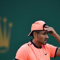 Kyrgios booed by fans at Shanghai Masters