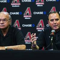 D-Backs clean house, fire GM, manager