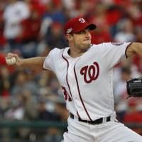 Nationals giving ball to Scherzer for decisive Game 5 against Dodgers