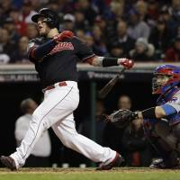 Indians rout Cubs in Game 1