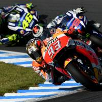 Marquez claims riders' title after dominating Japanese MotoGP