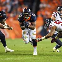 Broncos stifle Texans in rout