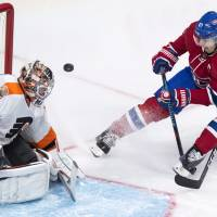 Canadiens top Flyers for fourth straight win
