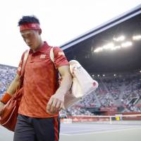 Ailing Nishikori pulls out of Japan Open