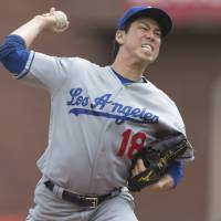 Dodgers' Maeda roughed up in regular-season finale