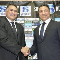 New Sunwolves head coach Tiatia already dealing with familiar issues