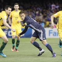 Haraguchi scores, concedes penalty in Japan's draw with Australia