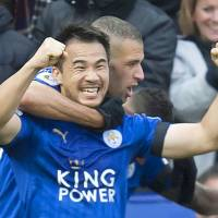Okazaki gets first goal of season in Leicester victory
