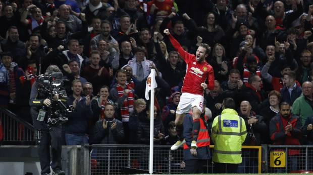 Man United blanks Man City in League Cup