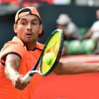 Crafty Kyrgios conquers Muller, advances to Japan Open semis