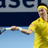 Nishikori reaches Swiss Indoors quarterfinals