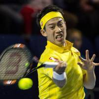 Nishikori moves into semis