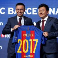 Rakuten to pay €220 million to place its logo on FC Barcelona jerseys