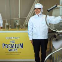Suntory restarts beer output at plant in quake-hit Kumamoto